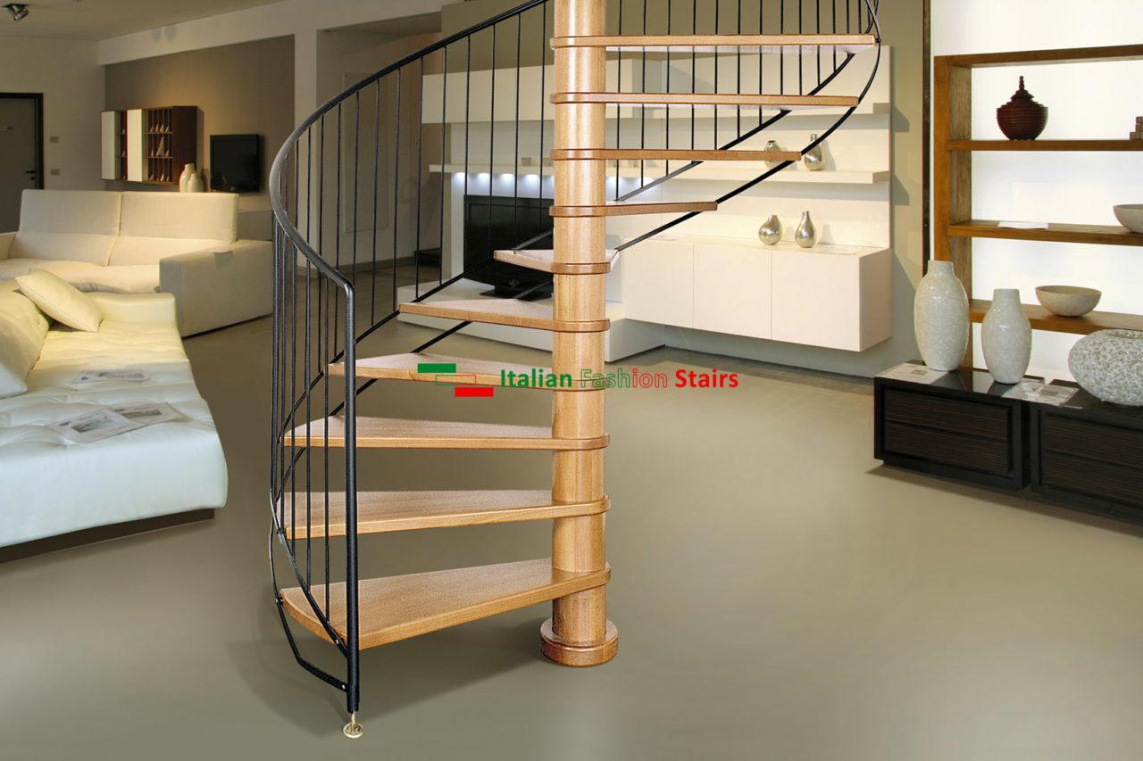 Alzata Massima Scala Interna scale per interni su misura - scale italian fashion stairs