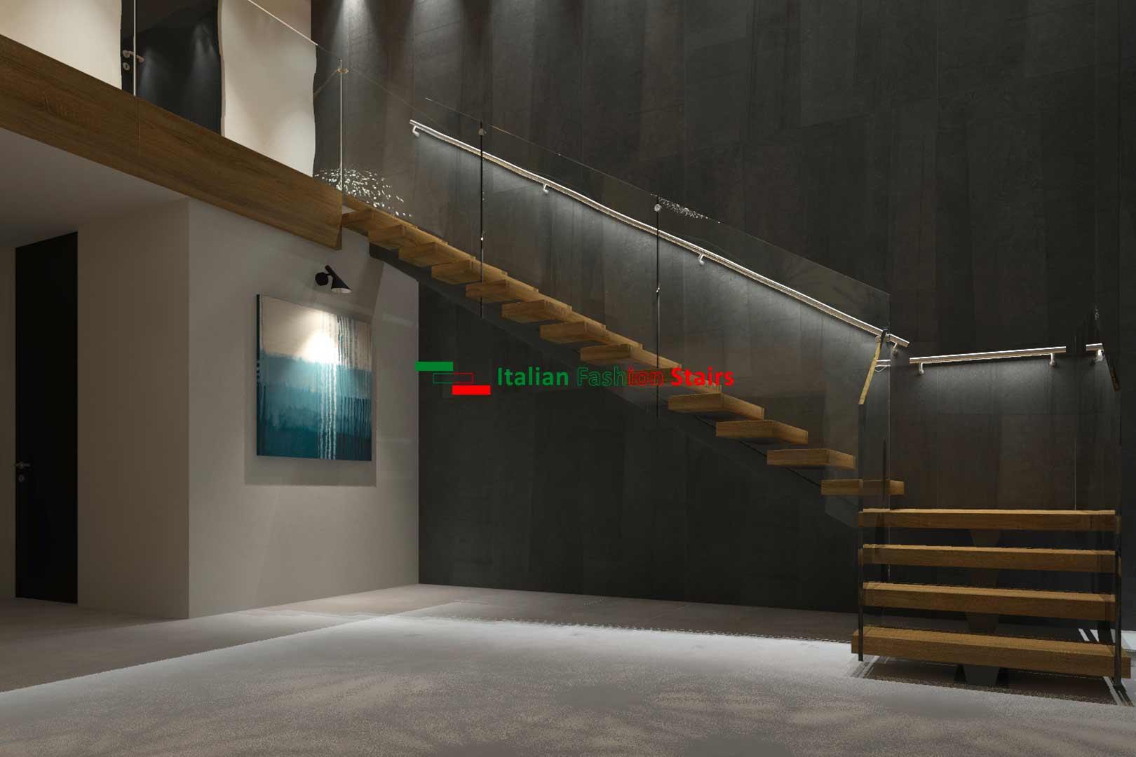scale di design per interni su misura