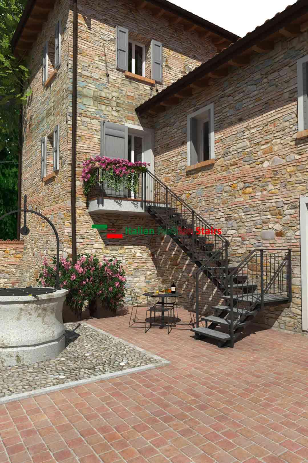 scale da esterno su misura